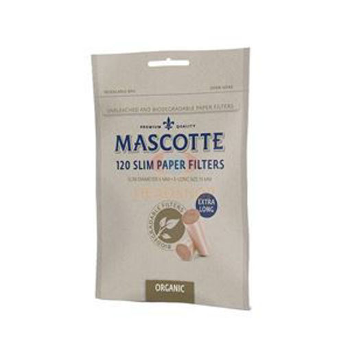 Picture of Mascotte Slim Filters Organic Extra Long 120/1