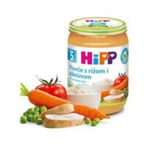 Picture of Hipp Baby food -  Chicken and Rise 190g