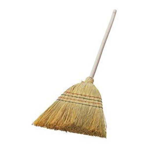 Picture of Straw Broom With Long Handle