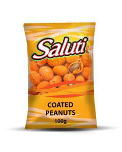 Picture of Saluti Coated Peanuts Roasted 100 gr