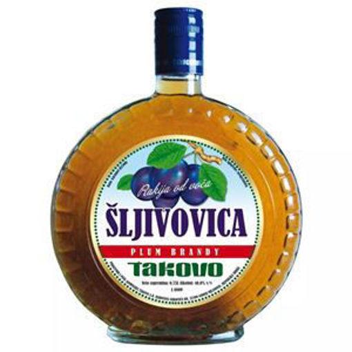 Picture of Brandy (Rakija) Plum 0.70L Takovo