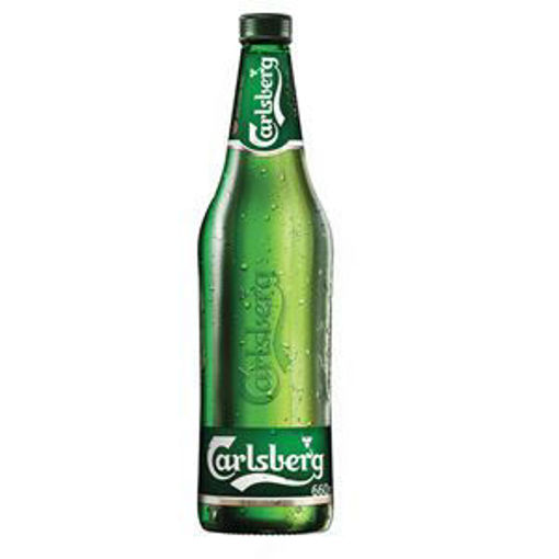 Picture of Beer Carlsberg 0.66 L Glass