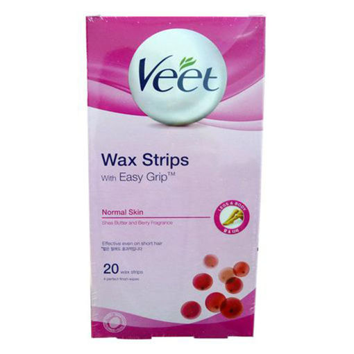 Picture of Wax Strips Hair Removal 20/1 Veet