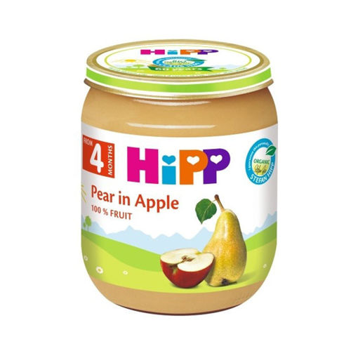 Picture of Hipp Baby food - Pear & Apple 125g