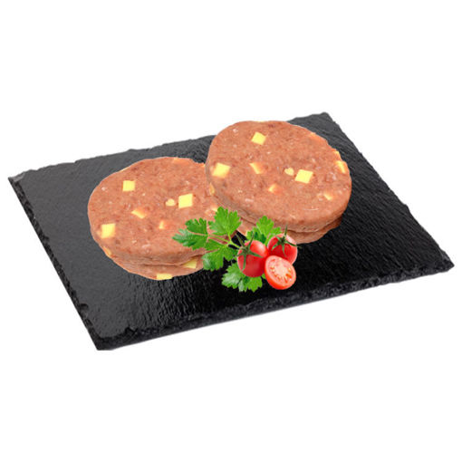 Picture of Burger Meat with Cheese