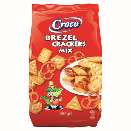 Picture of Mix Pretzels and Cracker Croco 250 g