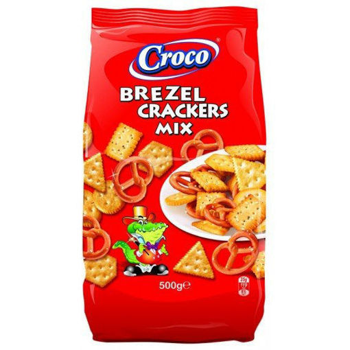 Picture of Mix Pretzels and Cracker Croco 500 g