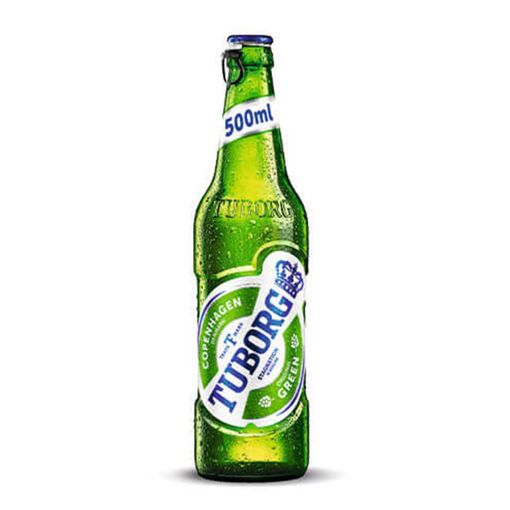 Picture of Beer Tuborg  0.5 L glass