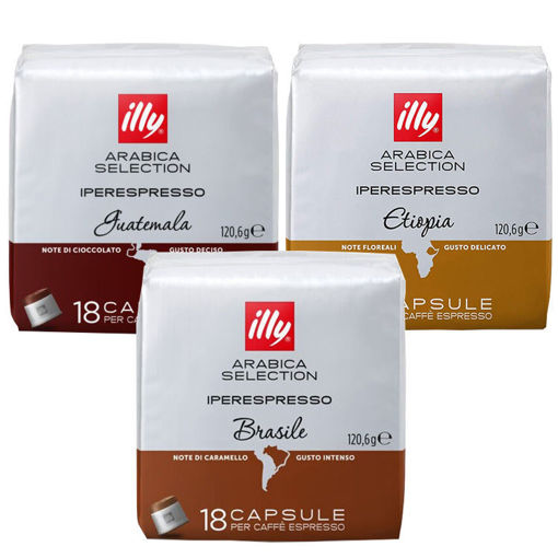 Picture of Illy Capsules Arabica 18/1