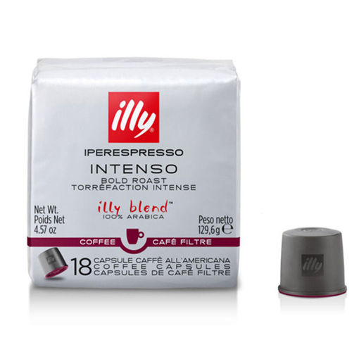 Picture of Illy Capsules 18/1 Intenso Dark