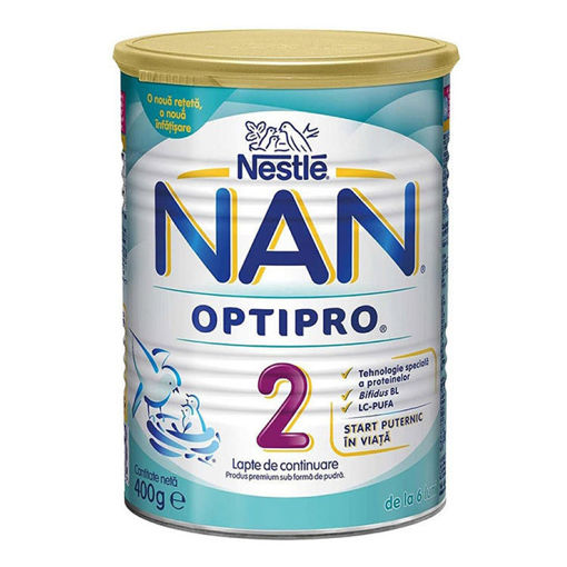 Picture of NAN OPTIPRO 2 LWPB 400g