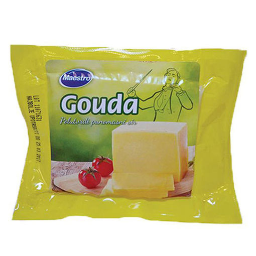 Picture of Yellow Cheese Maestro Gаuda 250 gr