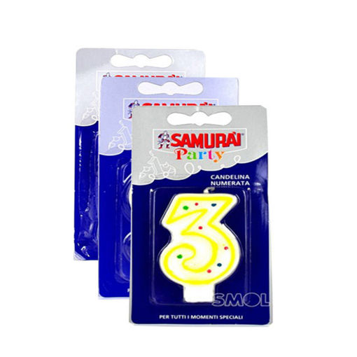 Picture of Samurai Party Birthday Candles