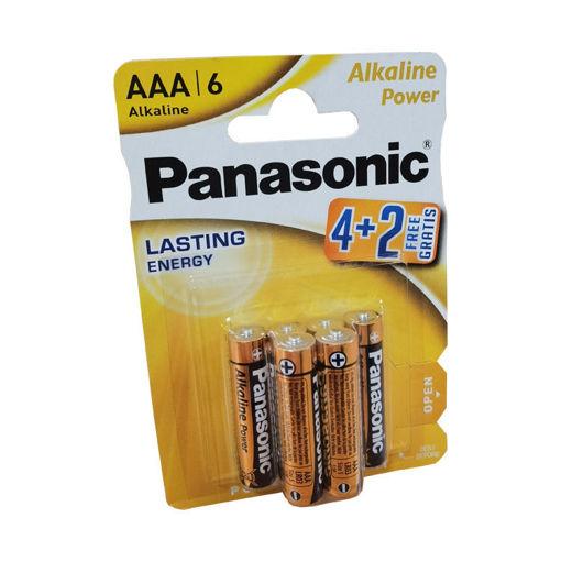 Picture of Panasonic Basic AAA 4+2