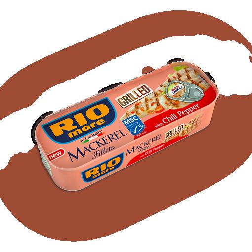 Picture of Mackerel BBQ Rio Mare 120 gr