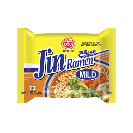 Picture of Jin Ramen Noodles Mild 120 gr