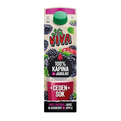 Picture of Viva Juice Blackberry & Apple 100% 1L Pressed Juice